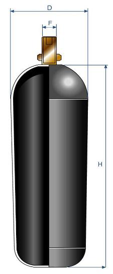 Баллон HR гидроаккумулятора высокого давления