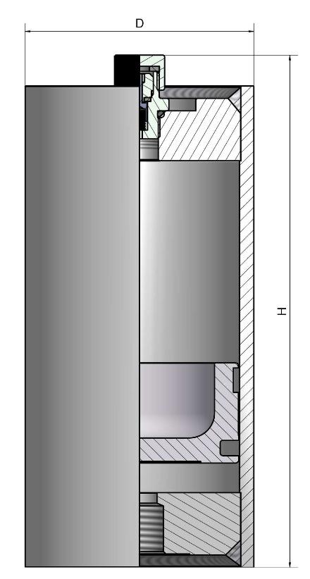 Поршневой гидроаккумулятор1