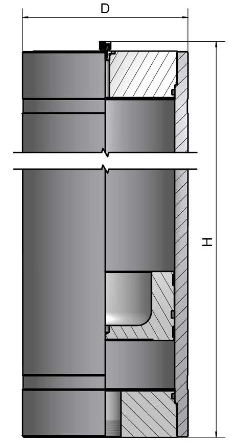 Поршневой гидроаккумулятор2