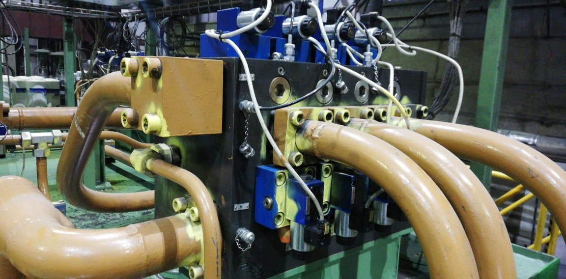 Модернизация гидравлической системы пресса